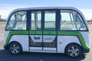 New Zealand's first Smart Shuttle unveiled in Christchurch airport