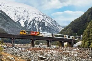 KiwiRail secures $13m to improve TranzAlpine resilience