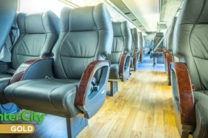 InterCity's airport buses now offer 'business class'