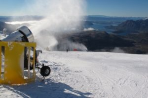 Treble Cone invests in new snowmaking system