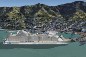 Lyttelton Port Company begins construction of $56m cruise berth