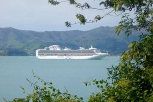 Cruise sector to step up over Akaroa environment concerns