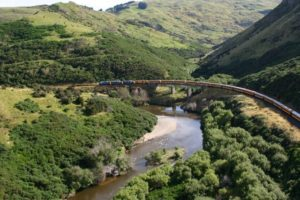 Taieri Gorge Railway affected by recent rain event