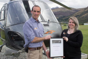 Heli Tours Queenstown achieves Qualmark success