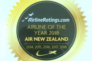 AirlineRatings.com names Air NZ Airline of the Year