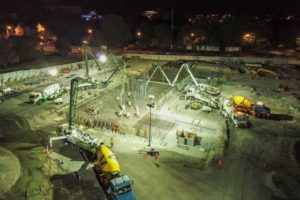 Convention Centre concrete pour good news for city