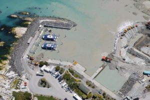 Kaikōura Harbour back in business
