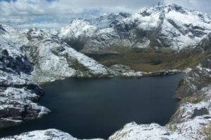 Heavy spring snow partially closes Routeburn Track