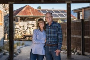 The Brainerds behind Camp Glenorchy's vision of sustainable tourism