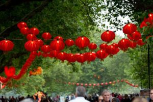 Lantern festival boosts central city businesses