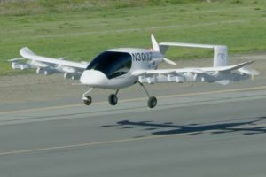 Self-piloted electric air taxi 'Cora' revealed in Canterbury