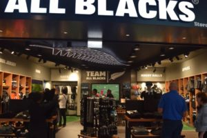 First official All Blacks store opens at Auckland Airport