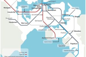 Auckland city to airport link part of $1.8bn light rail plan