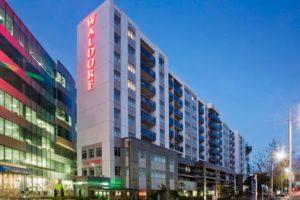 178-unit  Waldorf Stadium Apartment Hotel up for sale