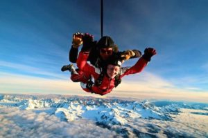 Skydive Franz raises the bar to 20,000ft