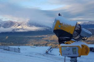 Southern ski fields fire up their guns