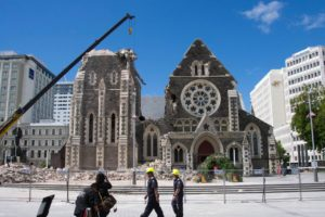 Christ Church Cathedral rebuild bounces back
