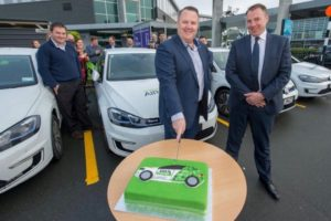 Christchurch Airport joins EV100