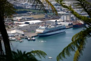 Cruise absence sees ship visits fall at Port of Tauranga