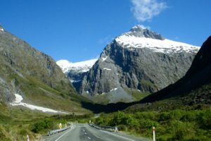 First buses get into Milford Sound