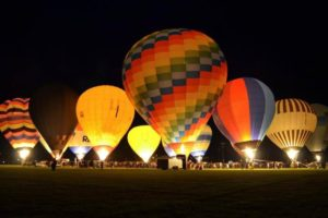 Ballooning night event wins tourism award