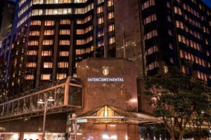 InterContinental Wellington sole NZ finalist in luxury awards