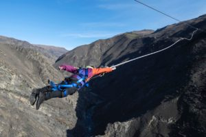 "Watch: Bungy NZ launches ""world first"" Nevis Catapult"