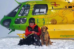 Heli Glenorchy pledges flight time for two local projects
