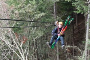 Ziptrek Ecotours flys the flag for Winter Pride 2018