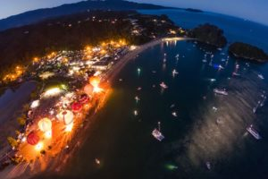 Watch: Inaugural Lift Off Abel Tasman gets region glowing
