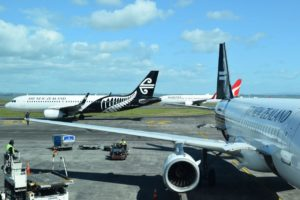 Auckland Airport December passenger numbers drop