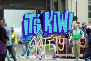 Watch: Air NZ goes hip hop with latest safety video