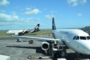 Air NZ passenger numbers fall 59%