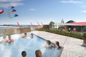 Brighton hot pools blessed, entry cost undecided