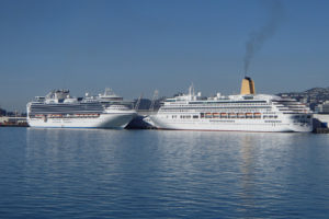 Cruise ship spend steady despite Covid curtailing visits