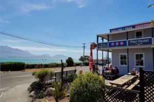Kaikoura's historic Pier Hotel comes to market