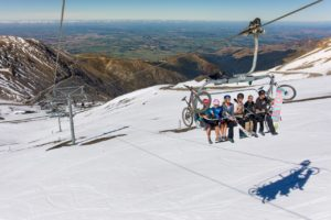 Gallery: Boarders and bikers mingle on Mt Hutt in $40k open day