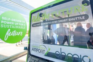 Christchurch Airport lets public test ride autonomous EV Smart Shuttle
