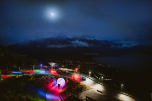 Skyline Queenstown launches Night Luge