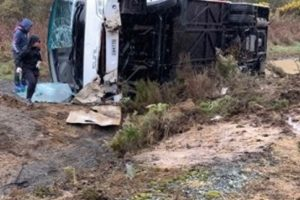 Police charge tour bus driver for fatal Rotorua crash
