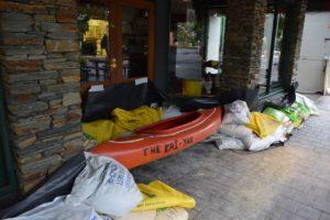 Gallery: Rising lake threatens Wanaka businesses