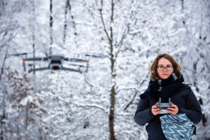 Drone film to look at human impact on environment