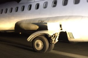 TAIC: Corrosion of landing gear cause of emergency landing