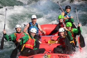 Rafting New Zealand helps cadets thanks to PGF