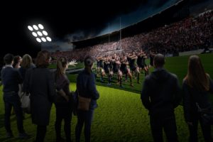 NTT unveils All Blacks Experience leader, booking options, pricing