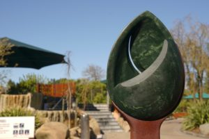 Stolen pounamu sculpture returned to Hanmer Springs