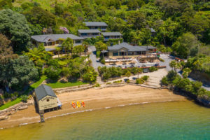 Marlborough Sounds eco lodge with underwater observatory for sale