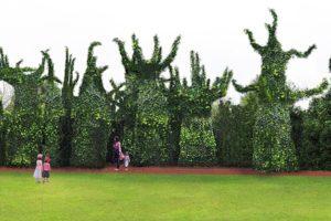 Surrealist addition to open at Hamilton Gardens