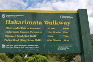 DOC calls on Hakarimata hikers to stop going 'over the top'