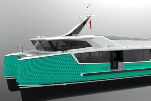 Electric ferry service promoted as 'shovel ready'